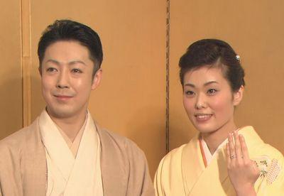 尾上菊之助と瓔子さん