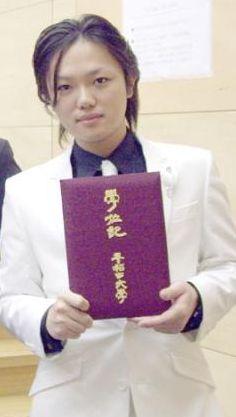 与沢翼の早稲田大学卒業式